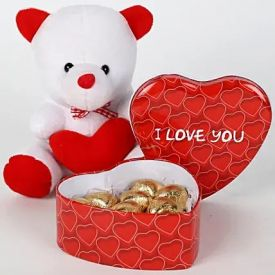 Chocolates with Teddy