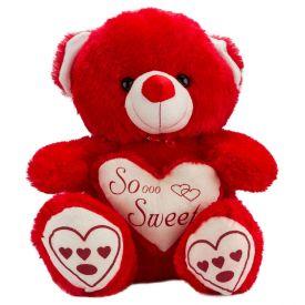 30 Inch Red Teddy Bear