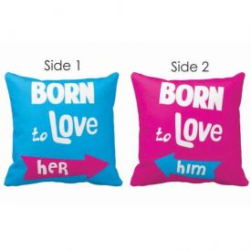 Double Side Cushion for Couple