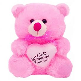 PINK HOT VALENTINE?S DAY GIANT TEDDY BEAR 12 INCH