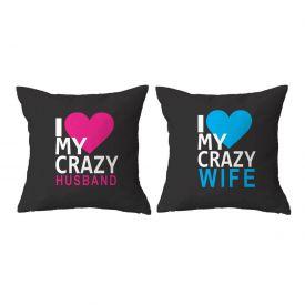 Double Side Husband & Wife Cushion