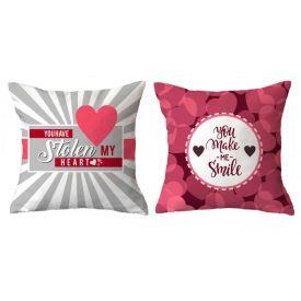 Double Side My Heart Cushion
