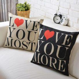 Double Side Love You Cushion