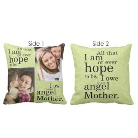 Double Side Cushion for Mother's Day