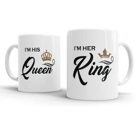 King Queen Coffee Mug