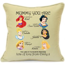 Mother's day printed cushion