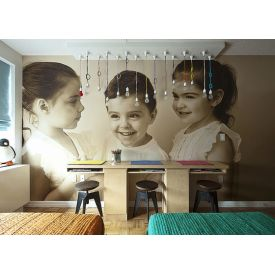 8x8 ft personalized wall paper