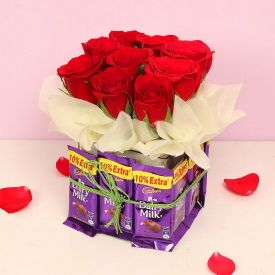 Rose Chocolate Bouq.
