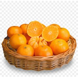 Orange With Basket