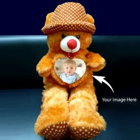 Brown Teddy Photo Personalized