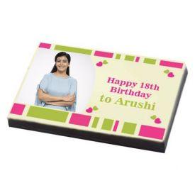 Happy Birthday Gift- personalized chocolates