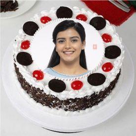 Photo Cake Round Shape