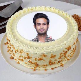 Photo Cake Butterscotch