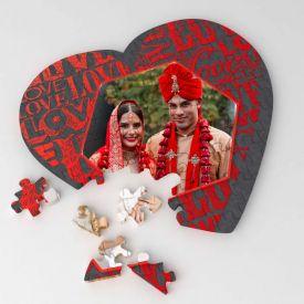 Heart shape puzzle