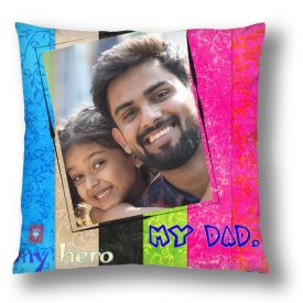 Customized Canvas Cushion Pillow Personalized With Photo