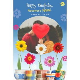 ON YOUR BIRTHDAY SWEETHEART PERSONALISED CARD