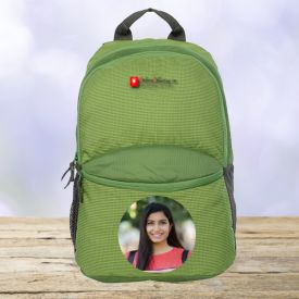 Green Casual Backpack