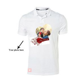 Personalized Mothers Day T-Shirt (Polo Neck)