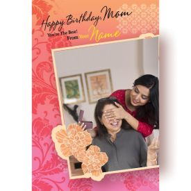 Happy B'day Mom Lovely Greeting Card