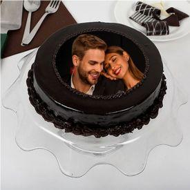 Photo Truffle Cake