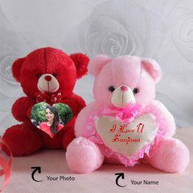 Personalized Teddy Couple