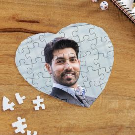 Heart Shape Puzzle game