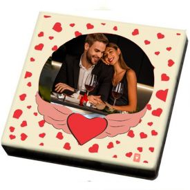 Valentine Gift Ideas - Photo on Chocolate bar