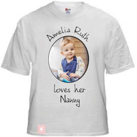 Personalized Round Neck Cotton T-Shirt