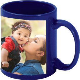 Personalized Blue Mug