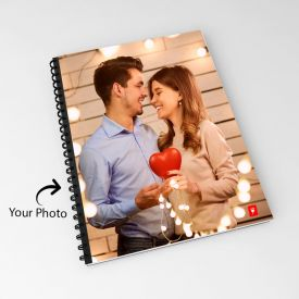 Cherished Love Personalized Notebook