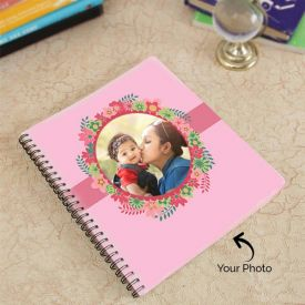 Personalized Photo On Spiral Binded Notebook