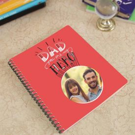 Exotic Personalized Spiral Notebook