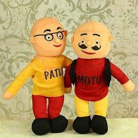 Motu Patlu Stuffed Toy