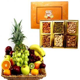 Dry Fruits with Fruits