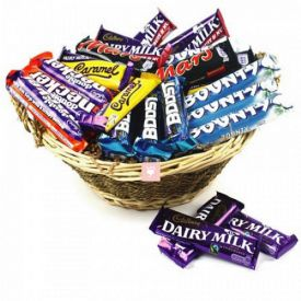 Mixed Chocolate with Basket