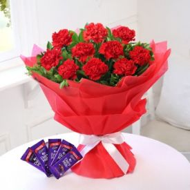 Carnation and dairy milk