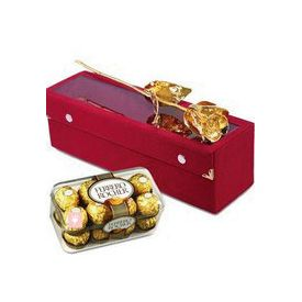 Ferrero Rocher with Golden Rose