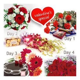 4 days Gifts of Valentines day