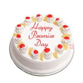 Promise day Pineapple cake of half kg