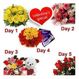 Valentines Day - 5 Day Specified Gifts