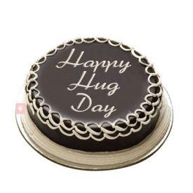 Hug day Chocolate cake