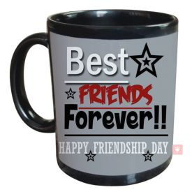 Best Friend forever Black Mug