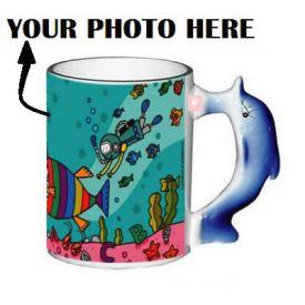 Personalized Dolphin Mug