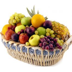 Basket of Mixed Fruits