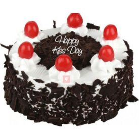 Kiss Day Black forest cake