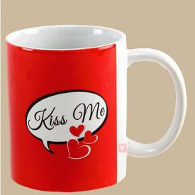 Kiss Day Special Mug