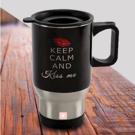 Kiss Day Travel Mug