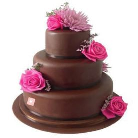3 Tier Chocolate Cakes