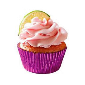 Beauty Strawberry Cupcakes