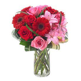 Pink N Red Flowers